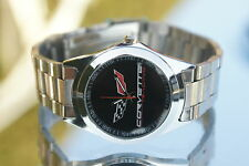 UHR  CHEVROLET CORVETTE  C1 C2 C3 C4 C5 C6 C7  STINGRAY ARMBANDUHR CLOCK WATCH