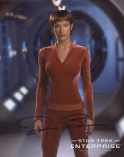 Jolene Blalock++ Autogramm ++ Star Gate ++ Star Trek Enterprise ++ Dr. House