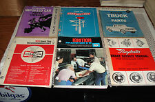 AUTO PARTS STORE MANUAL LOT PARTS BOOK CATALOGS FORD GM MOPAR AND MORE
