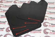 RALLY ARMOR BASIC UNIVERSAL MUD FLAPS RED MF12-BAS-RD GLOBAL SHIPPING