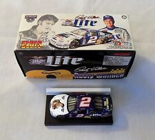 NASCAR RUSTY WALLACE ELVIS MILLER LITE 1/64 STOCK CAR 1998 ACTION TOY NEW IN BOX
