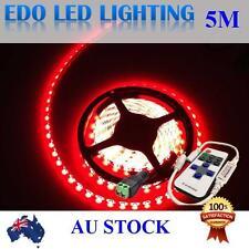Waterproof 12V Red 5M 3528 SMD 300 Leds LED Strips Strip Light + Remote Dimmer