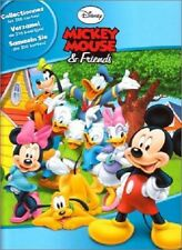 6 cartes DISNEY MICKEY MOUSE & FRIENDS Parc d'Attractions n° 110,115-117,119,125