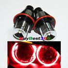 2x Red Angel Eyes LED Lights Ring Marker Xenon HID for BMW E39 E60 E53 E65