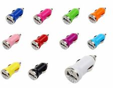 10 x Colorful Universal Mini USB Car Charger For iPhone 3G 4G 4S iPod