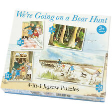 We're Going On A Bear Hunt 4 In A Box 12/16/20/24 Piece Jigsaw Puzzle