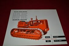 Allis Chalmers HD-11E Crawler Tractor  Dealer Brochure YABE11 Ver43