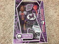 NIB Monster High Doll Clawdeen Wolf Crescent from 2009 First 1st Wave