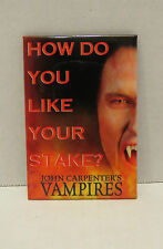 John Carpenter's VAMPIRES A Horror Movie Promo Button Pin