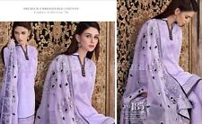 Gul Ahmed 100% Original Cambric Collection 2016 Unstitched Suit PM-185