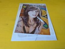 CHRISTINA PERRI - Mini poster couleurs !!!