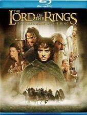 LORD OF THE RINGS NEW BLU RAY 2-DISC SET FELLOWSHIP ORLANDO BLOOM,ELIJAH WOOD