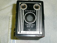 Vintage KODAK Brownie Target Six-20 Box Camera 1946-1952 Very Nice