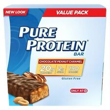 Pure Protein® Chocolate Peanut Caramel Nutrition Bar - 12 Count