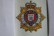 "2 X ROYAL LOGISTIC CORPS  STICKERS 5"" BRITISH ARMY  BADGES MILITARY INSIGNIA"