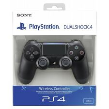 New Sony Dualshock 4 V2 Jet Black Controller PS4 Brand New
