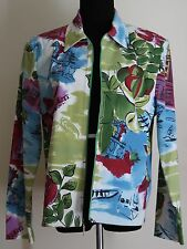 St John Sport by Marie Gray sz M Tropical Jacket in A1 Condition-newly dry cln'd