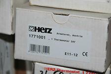 HERZ 1771001 THERMOMOTOR 7710 24 V STELLMOTOR FUSSBODENHEIZUNG M28x1,5 NEU