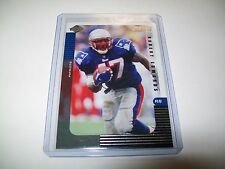 1999 Collectors Edge  Supreme Football Robert Edwards Preview Card