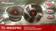 "Pioneer TS-M800PRO 700 Watts 8"" 2-Way High Efficiency Midbass Car Speakers"