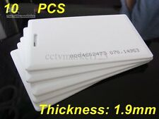 10PCS RFID Card/Tag 125KHz EM4100 Family ProximityDoor Control Entry Access Card
