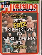Pro Wrestling Illustrated February 1991, Scott Steiner, Hulk Hogan EX 011416DBE