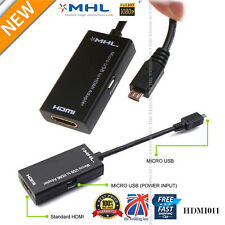 1080P Cable Adapter MHL to HDMI HDTV Micro USB for LG HTC Xperia Samsung S2 Note