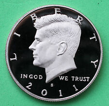 2011 S Proof Kennedy Half Dollar Coin 50 Cent JFK from US Mint Proof Set