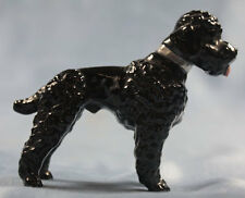 Caniche porcelaine personnage METZLER ORTLOFF porcelaine personnage chien