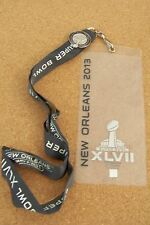 2013 Super Bowl 47 XLVII I Was There pin & ticket holder Ravens vs 49ers SB var2