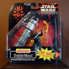 Star Wars Deluxe 3.75 inch Darth Maul by Hasbro