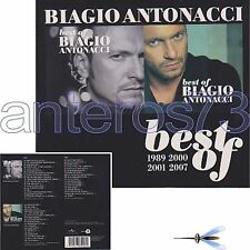 "BIAGIO ANTONACCI ""BEST OF 1989 2000 / 2001 2007"" BOX 3 CD - SIGILLATO"