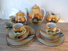 Joli ancien service à thé japonais ou chinois no opaline