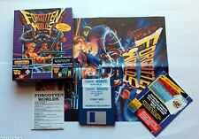 Forgotten Worlds World Capcom Commodore Amiga Ovp Boxed LIMITED EDITION