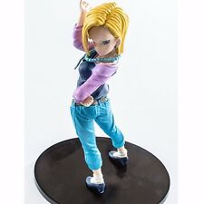 "Dragon Ball Z DBZ Scultures BIG Part.6 Android No.18 17cm/7"" PVC Figure No Box"