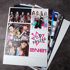 K-POP 2NE1 10Posters 2NE1 Collection Bromide (10PCS)  A4 SIZE NEW !!!