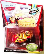 DISNEY Pixar Cars MIGUEL CAMINO-METALLIC FINISH Edition-MATTEL-NUOVO & OVP