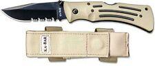MULE KNIFE SHEATH_DESERT CORDURA_KA-BAR #3052S