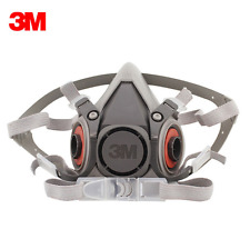 3M 6200 reusable Respirator Painting Spraying half Face/Gas Mask Brand New