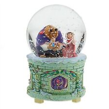 "Disney Beauty And The Beast Musical Snow Globe ""Something There"" BRAND NEW"