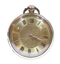 Antique C.1820  Fusee Verge With Lever Conversion Pocket Watch. Serviced