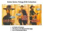 DOLLARS SERIES TRILOGY DVD TRIPLE GOOD BAD AND UGLY FOR A FEW MORE FISTFUL OF