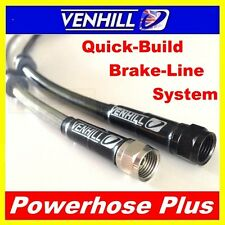 800mm Custom Stainless steel braided Powerhose Plus brake line hose VENHILL