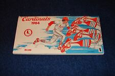ST. LOUIS CARDINALS 1984 MEDIA GUIDE (WB815)