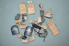 """1:6 US Army Equipment Gear Bags Pouches (24 Pcs) for 12"""" Action Figures C-145"""