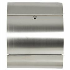 Home Heavy Duty Stainless Modern Design Locking Wall Mount Parcel Letter Mailbox