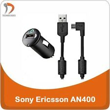 SONY ERICSSON AN400 chargeur Voiture charger oplader Xperia Acro S Go Ion Miro P