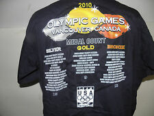 Vancouver 2010 Winter Olympics USA We Are The Champions T-Shirt  Size XL (NWOT)