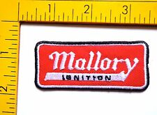 Hot Rod patch Mallory Ignition Badge Drag Race Muscle Car Speed Shop Iron On