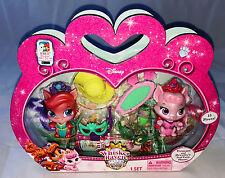 Disney Princess Palacio Mascotas Whisker Haven Treasue & paquete doble de la figura de ensueño